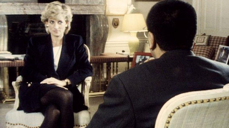 """Polémica sobre """"la entrevista del siglo"""" con la princesa Diana"""